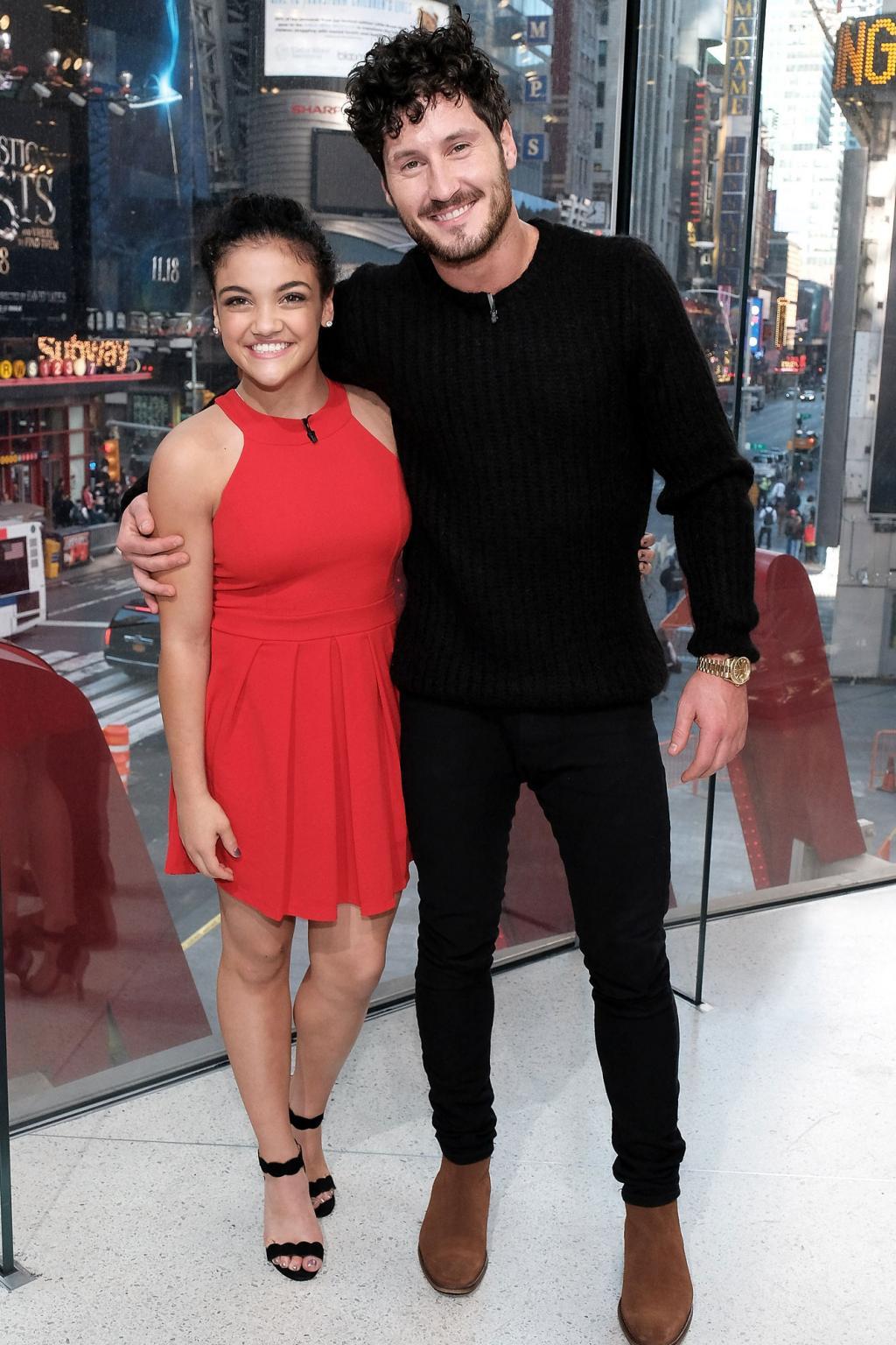 Find Out How Laurie Hernandez Celebrated Her Dancing with the Stars Win (Hint: It  's Tasty and Cold!)
