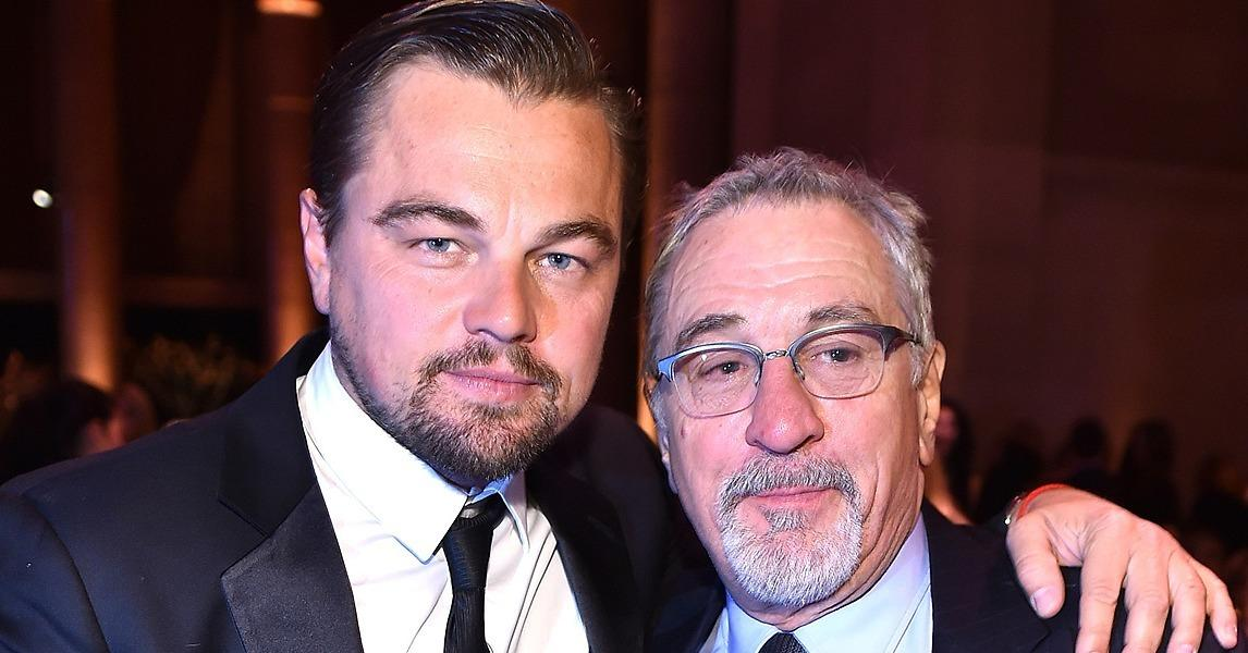 Former Costars Leonardo DiCaprio and Robert De Niro Have a S
