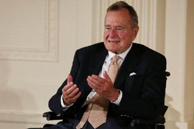 Former President George H.W. Bush and Wife Barbara Hospitalized in Houston