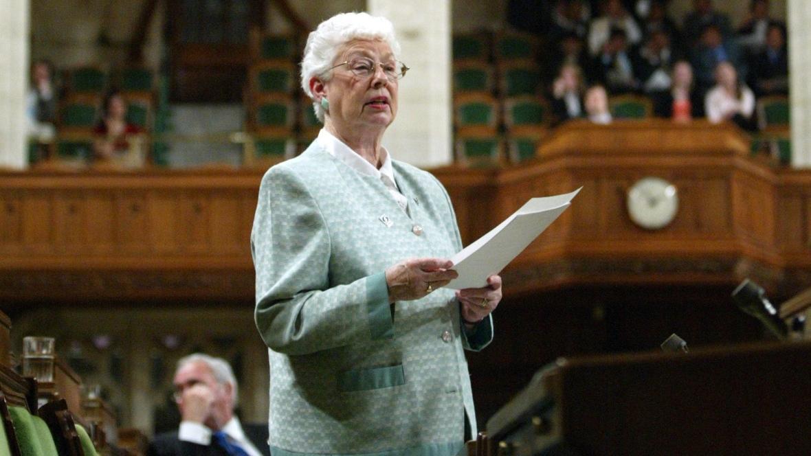 Former Saint John MP Elsie Wayne, a 'political icon,' dies at 84