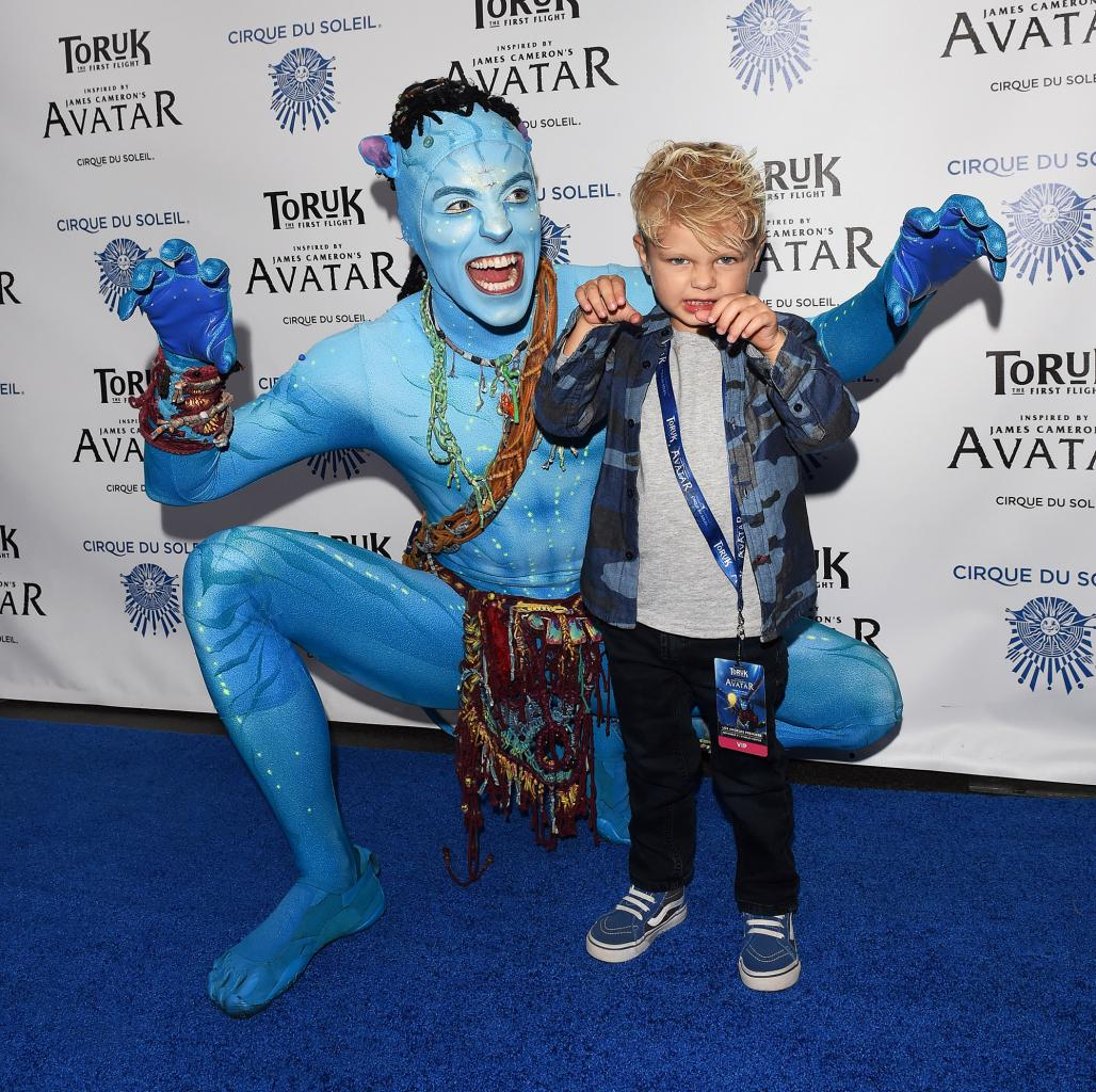 Future Superstar! Axl Duhamel Steals the Show at the Avatar-Inspired Cirque Du Soleil Event