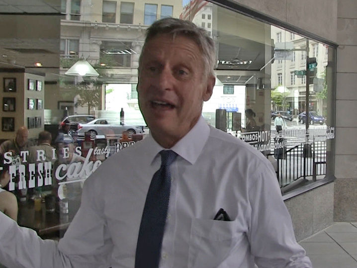 Gary Johnson -- I'm Begging Snoop & Taylor Swift ... Get On Board! (Video)