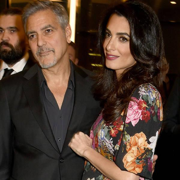 George Clooney Opens Up About Amal Clooney's Pregnancy for the First Time: ''It's Going to Be an Adventure!''