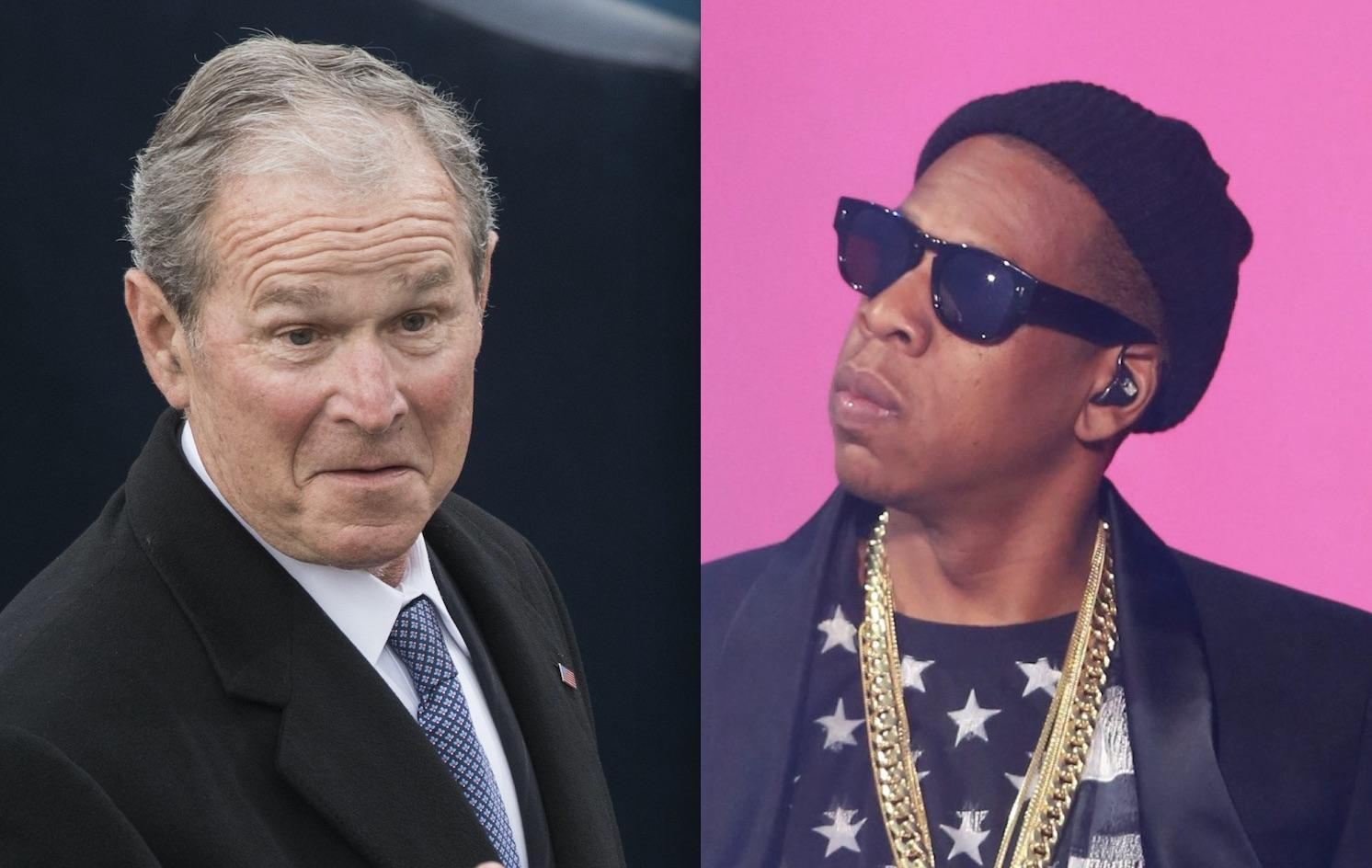 George W. Bush Has No Idea Who Jay Z Is