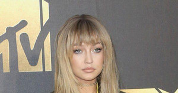 Gigi Hadid Is Bangin' (Literally) With Her New Hair and Powe