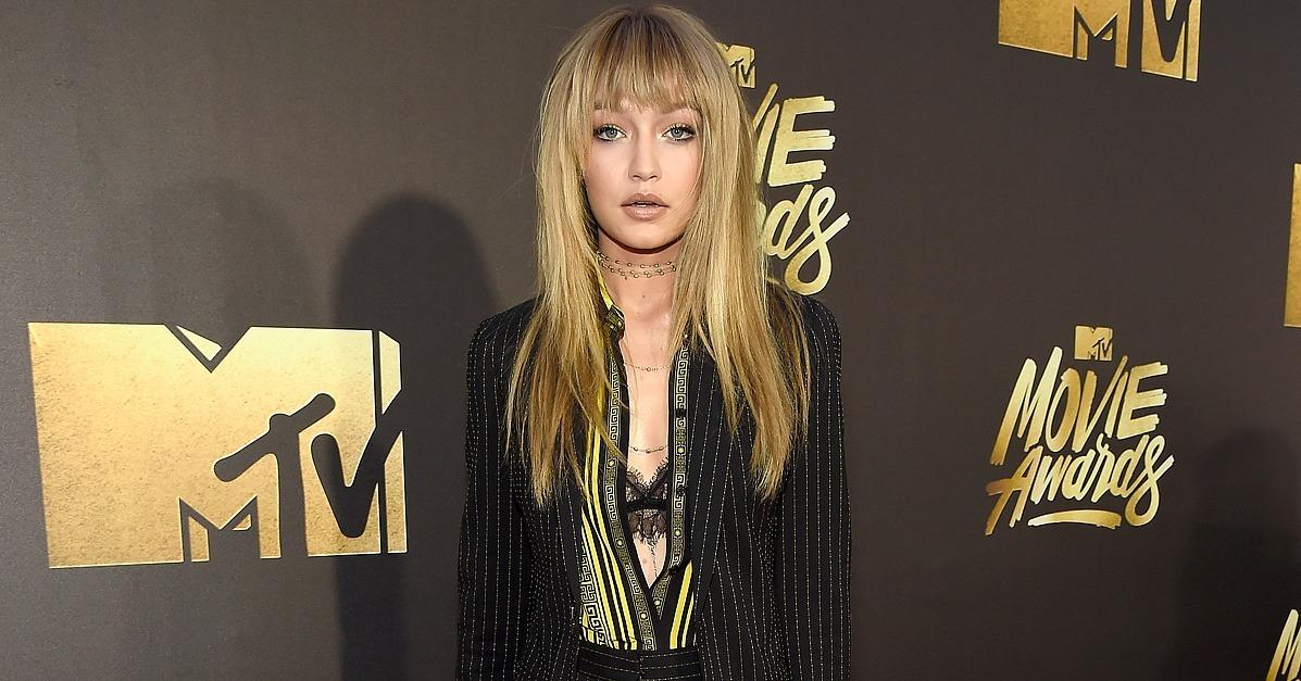 Gigi Hadid Looks So Flawless at the MTV Movie Awards, She Ma
