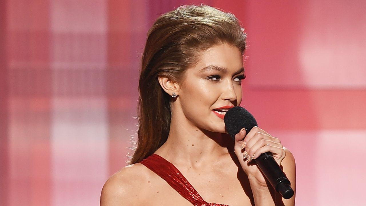 Gigi Hadid (Sort Of) Apologizes for Controversial Melania Trump Impression at American Music Awards