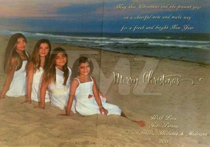 Giudice Xmas Card - Mommy's In the Big House ... But We're H