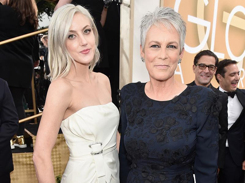 Golden Globes 2016: Jamie Lee Curtis Brings Daughter Annie A