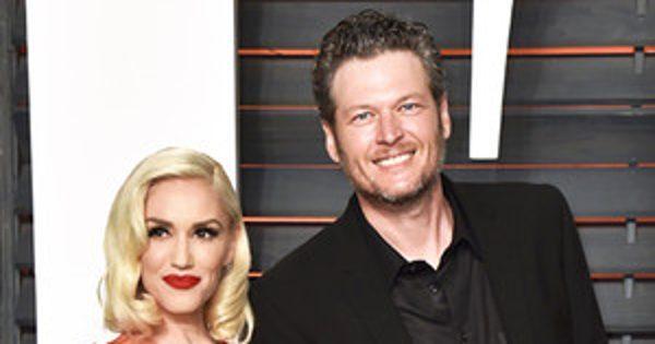 Gwen Stefani and Blake Shelton Make Their Red Carpet Debut a