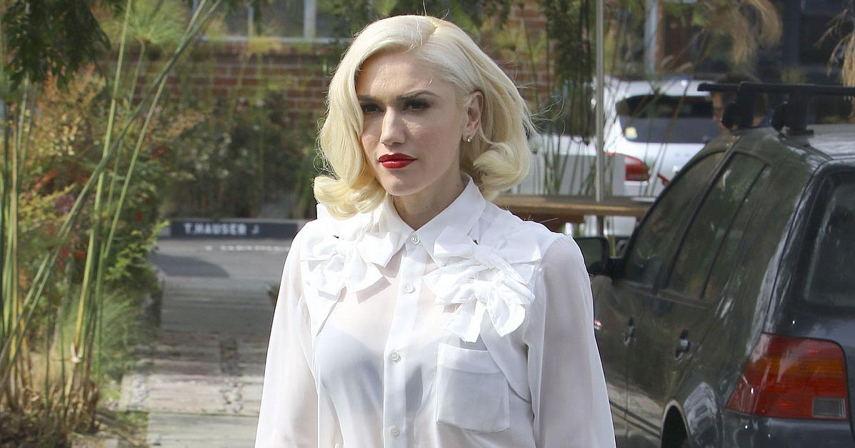 Gwen Stefani Gives Off Major Marilyn Monroe Vibes While Out