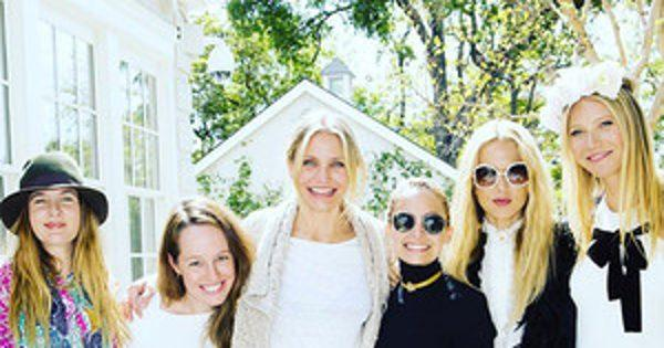 Gwyneth Paltrow Hosts Celebratory Lunch With Her Famous Frie