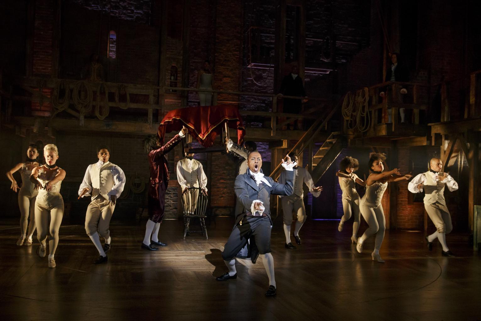Hamilton '  &    Shuffle Along '  Lead Historic Tony Nominations Derby