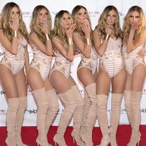 Heidi Klum Clones Herself Five Times for Halloween