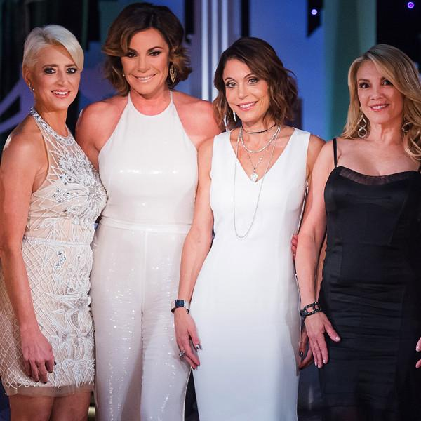 Here's What Bethenny Frankel and Other Rhony Stars Were Doing When Luann de Lesseps Got Married