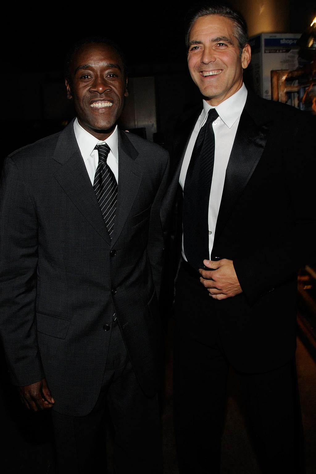 He       's Going to Be a Terrible Parent       ': Don Cheadle Jokes That He        ll Have to Raise George Clooney       's Kids