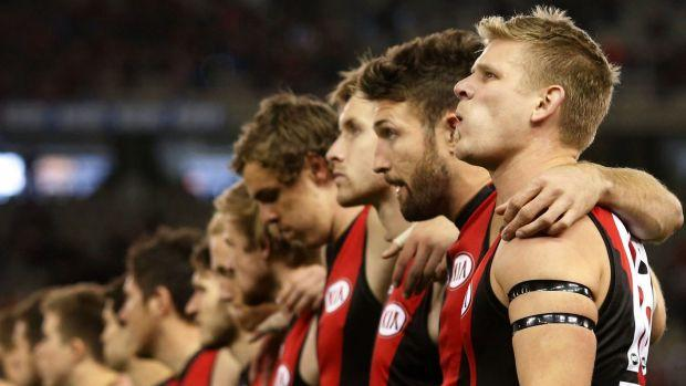 High fives, as Michael Hurley re-signs with Essendon