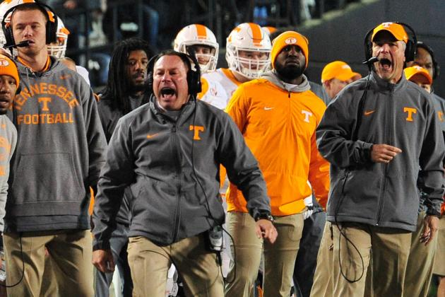 Tennessee's Loss to Vanderbilt Puts Butch Jones Firmly on the Hot Seat