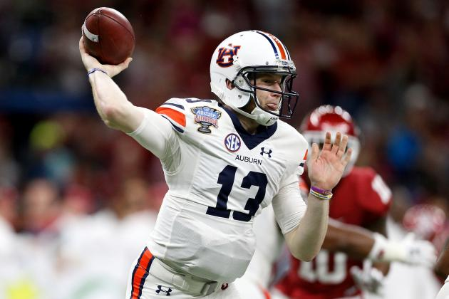 Sean White Injury: Auburn QB Injures Arm in Sugar Bowl vs. Oklahoma
