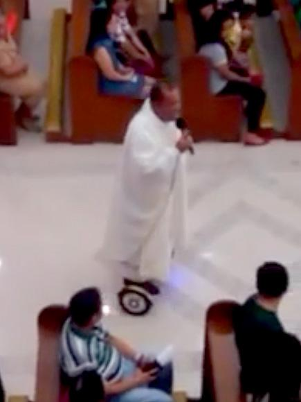 Hoverboard Ride During Christmas Eve Mass Earns Filipino Pri