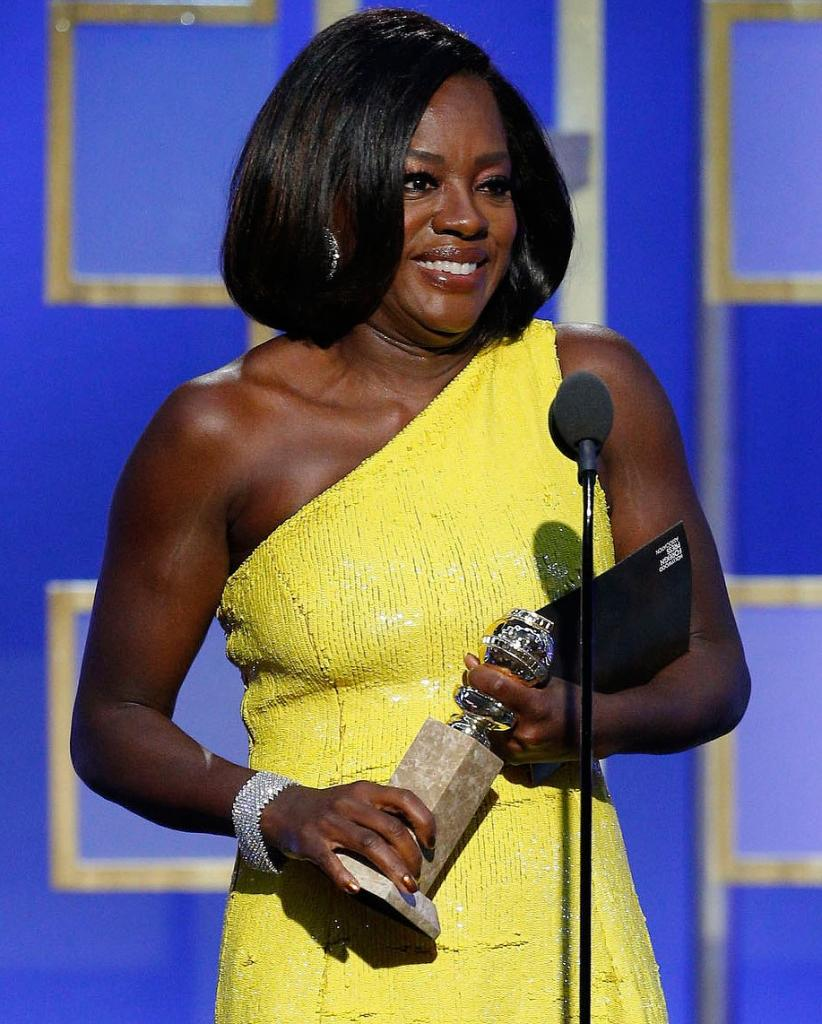How Is Viola Davis Celebrating Her Golden Globe Win?    I  'm Going to Eat Some Meat