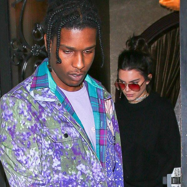 How Kendall Jenner, A$AP Rocky and More Cute Couples Rang in the New Year