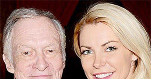 Hugh Hefner Celebrates His 90th Birthday and Wife Crystal He