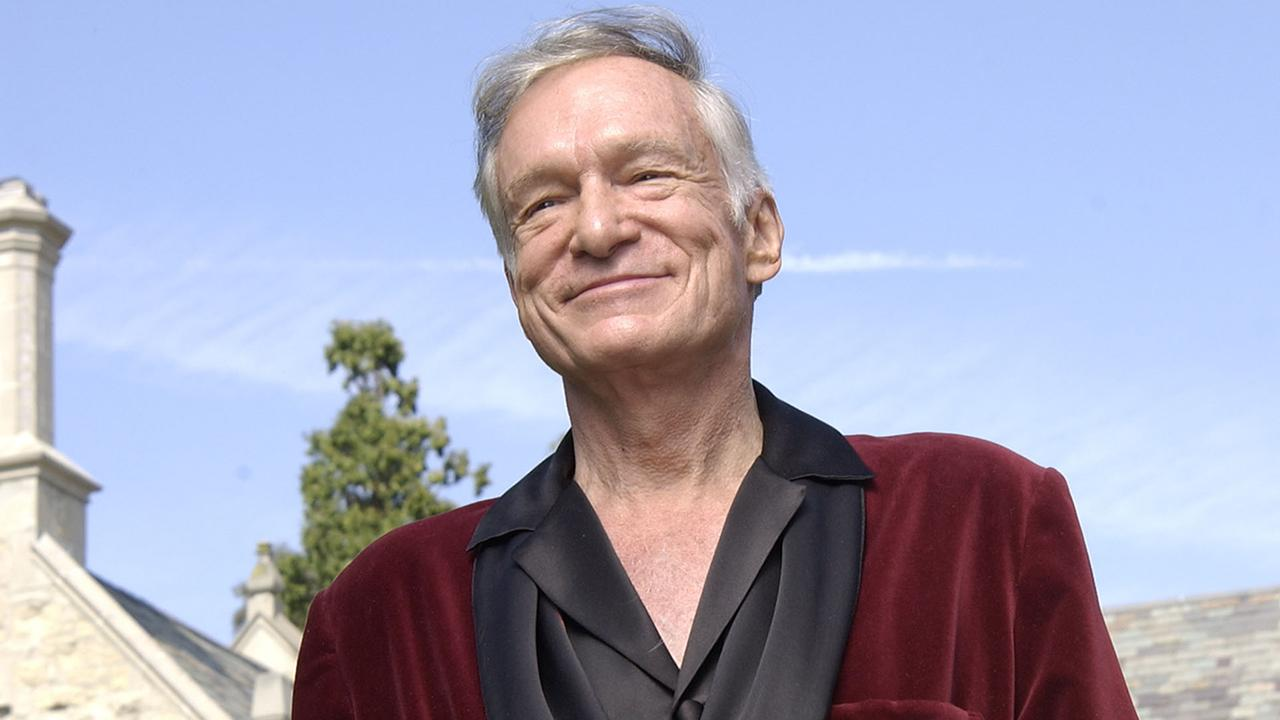 Hugh Hefner Returns to Twitter With Father-Son Photo Celebrating Thanksgiving