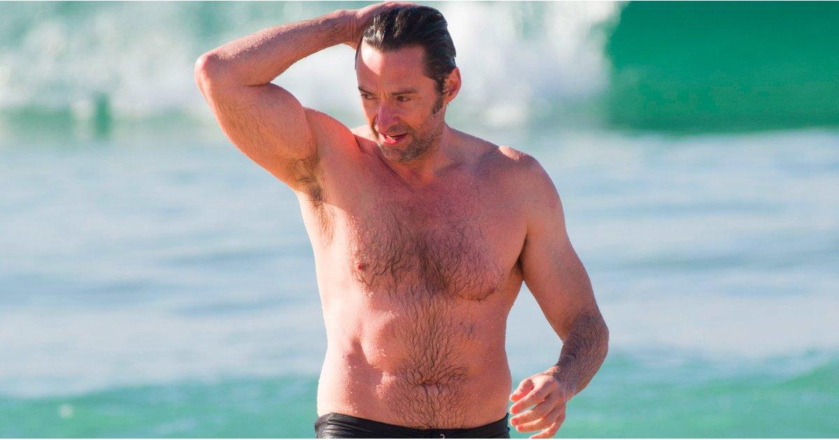 Hugh Jackman Narrowly Escapes the Ocean After a Shark Warning in Sydney