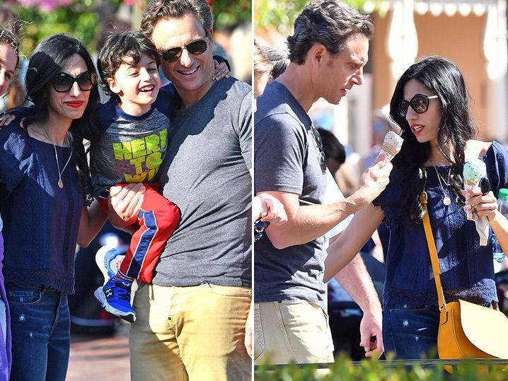 Huma Abedin and Tony Goldwyn Do Disneyland Together (Photo Gallery + Video)