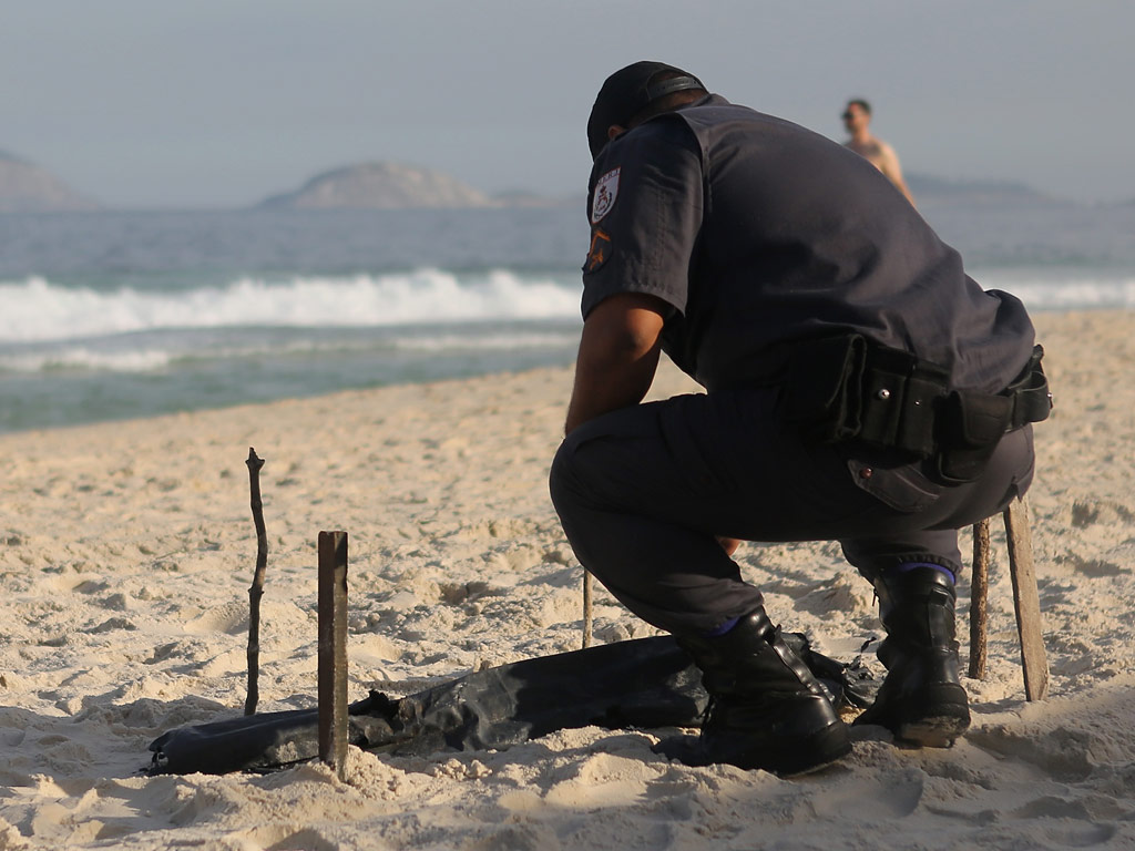 Human Body Parts Wash Ashore Rio Beach Near Olympic Volleyball Site