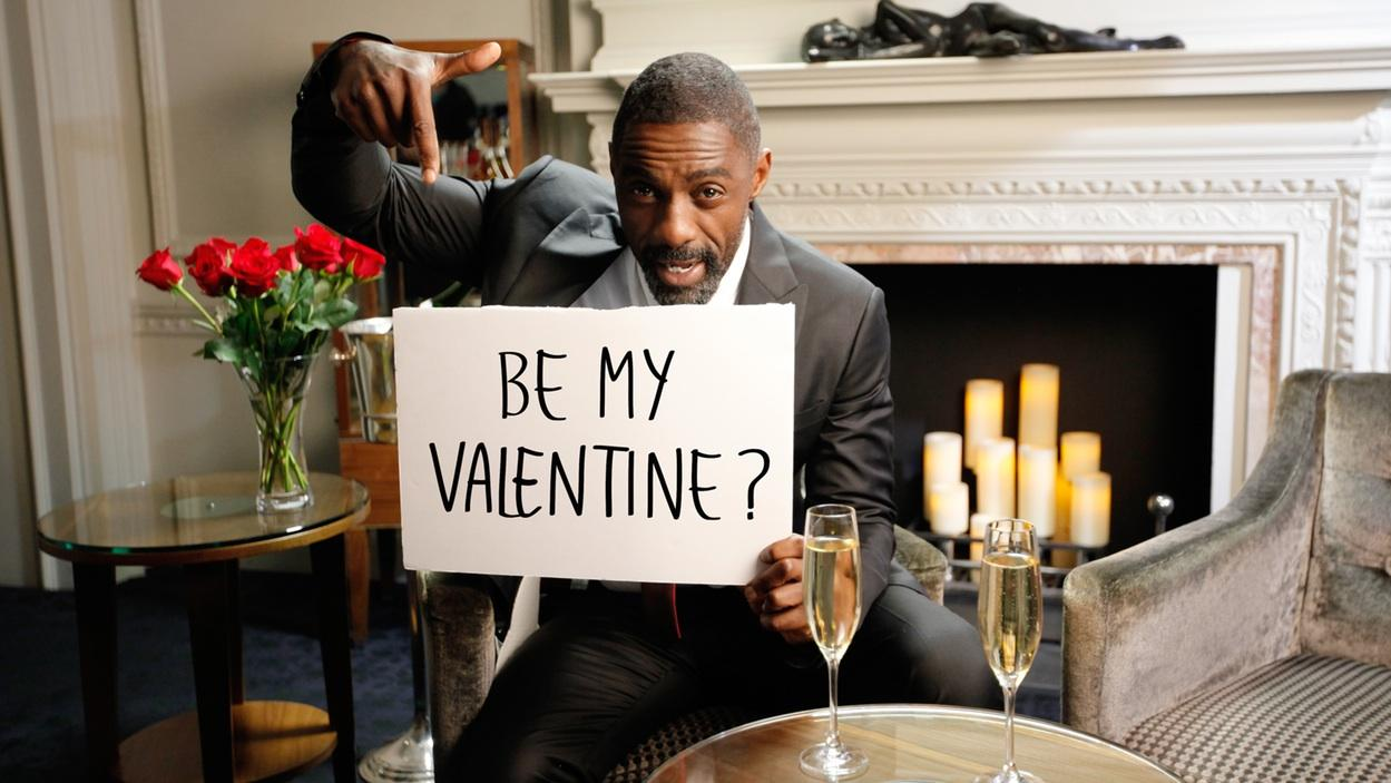 Idris Elba Could Be Your Valentine  's Day Date:    I   ll Let You Pound My Yams