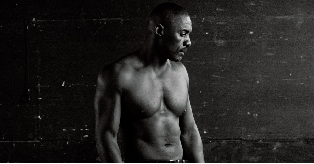 Idris Elba's Shirtless Photo Shoot Further Proves He Should Be the Next James Bond