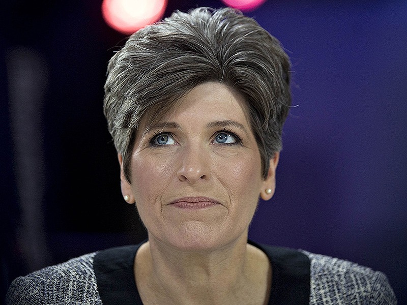 Iowa Senator Joni Ernst Drops Out of Donald Trump's Veepstakes