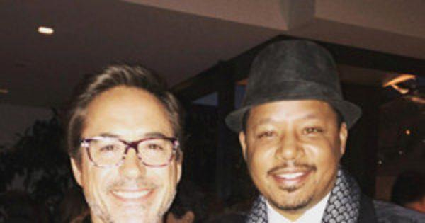 Iron Man Stars Terrence Howard and Robert Downey Jr. Are