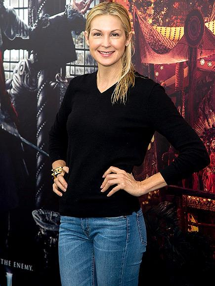 Is Kelly Rutherford Back in Europe to See Her Kids? Embattle