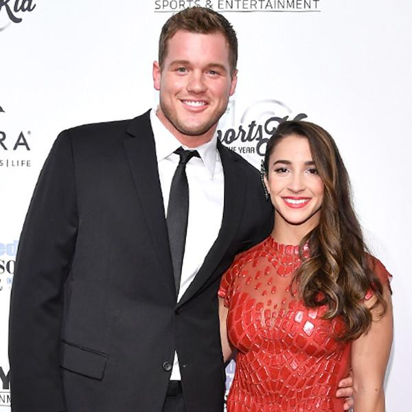 It's Official! Aly Raisman and Colton Underwood Make Their Red Carpet Debut as a Couple