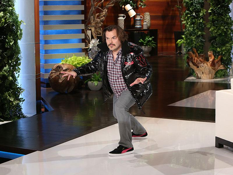 Jack Black Whips, Nae Nae's, and Break Dances for a Good Cau