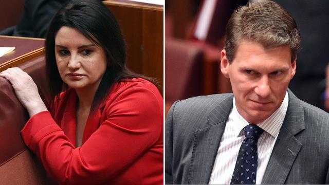 Jacqui Lambie likens Cory Bernardi to an 'angry prostitute', then apologises to sex workers
