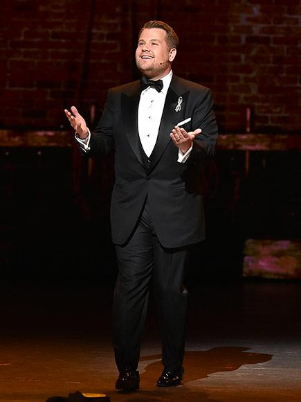 James Corden's Father Adorably Disses His Son at the Tony Awards: 'Let's Get On with It!'
