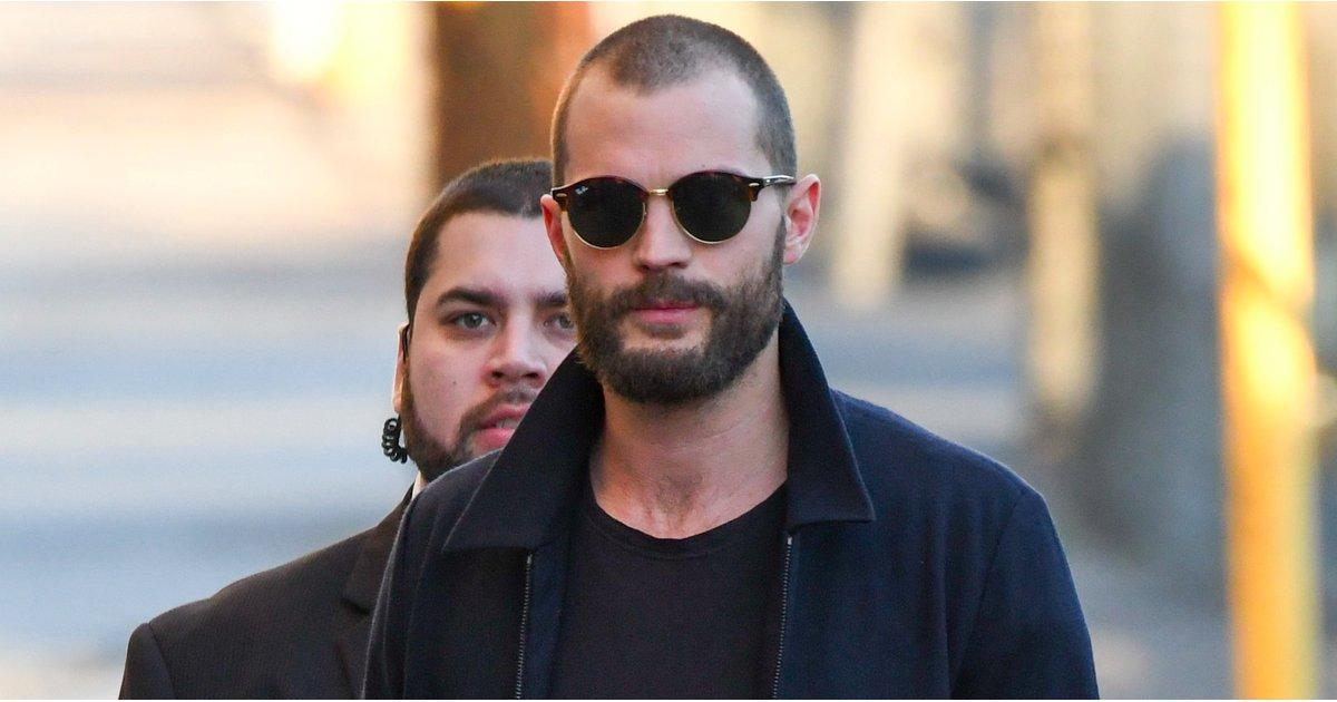 Jamie Dornan Still Manages to Look Hot, Even With a Shaved Head