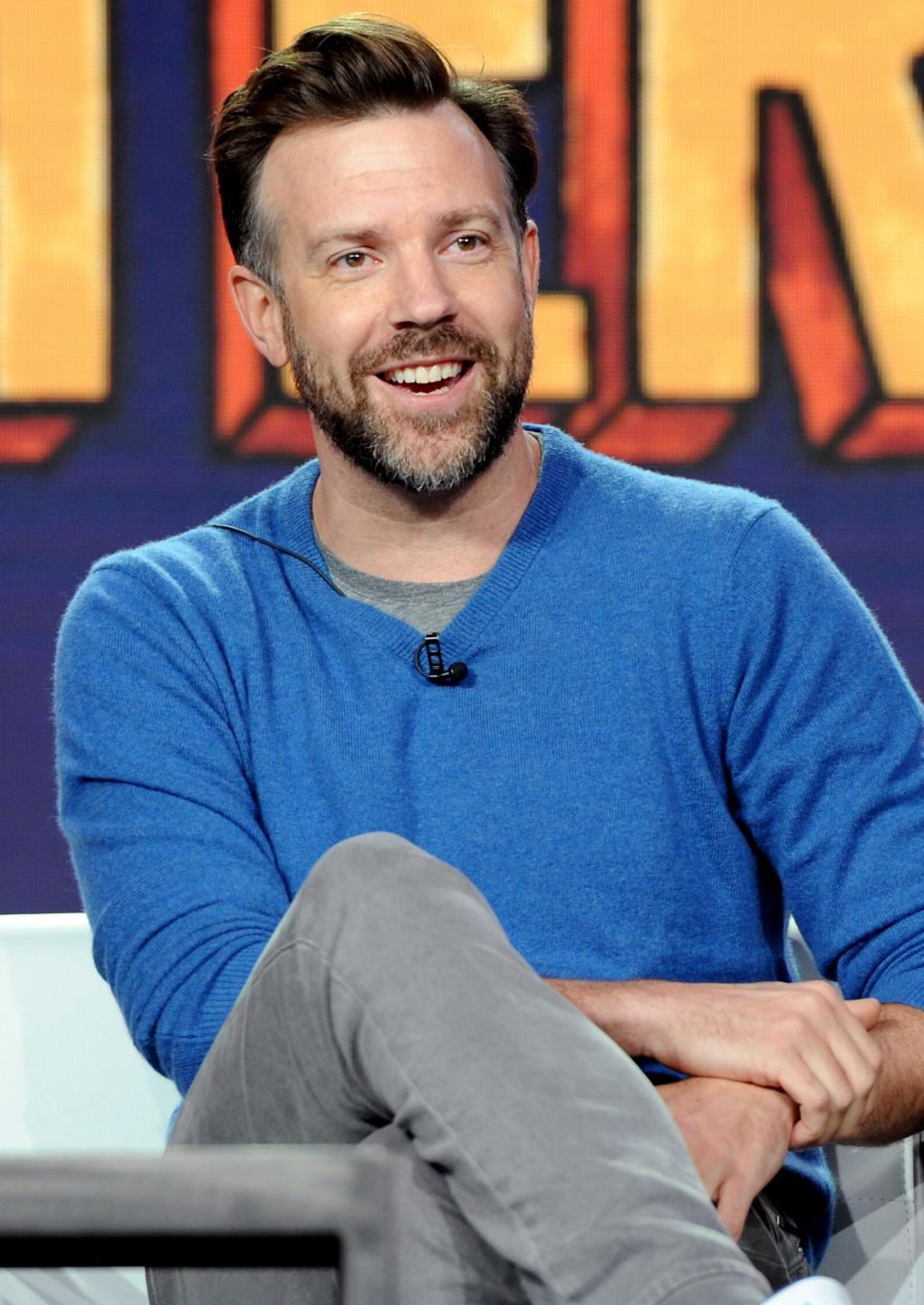 Jason Sudeikis on Raising a Daughter:    She Couldn  't Have a Better Role Model '  in Fianc 'e Olivia Wilde