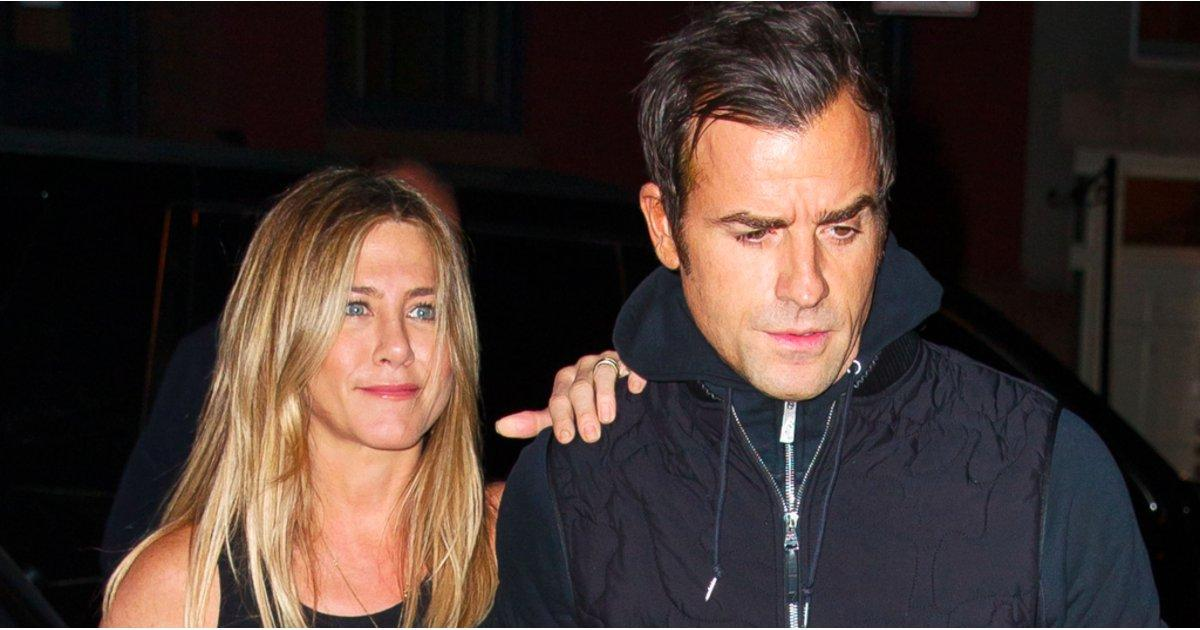 Jennifer Aniston and Justin Theroux Keep Close During Their Date Night in NYC
