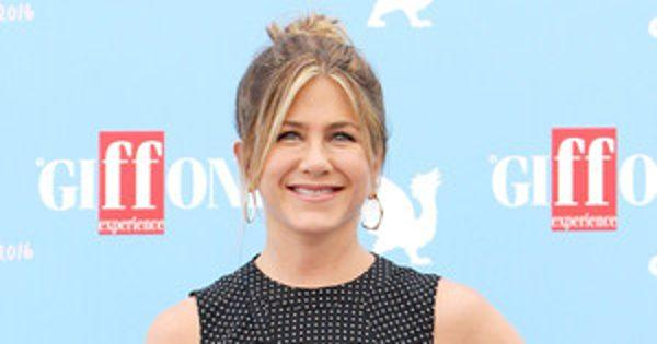 Jennifer Aniston Gets Emotional When Discussing Self-Doubt at Italy's Giffoni Film Festival