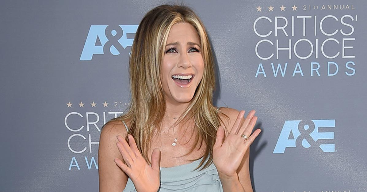 Jennifer Aniston Has a Mysterious Reaction to Seeing Kate Be