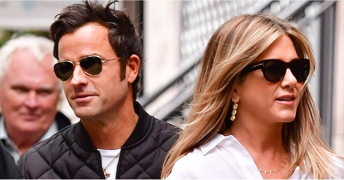 Jennifer Aniston Sticks By Justin Theroux After His Brad and Angelina Split Comments