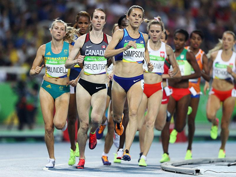 Jenny Simpson Makes History Earning U.S.A.'s First-Ever Medal in Women's 1,500-Meter