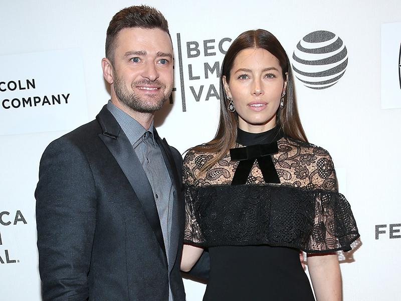 Jessica Biel on Her 'Working Relationship' with Husband Just
