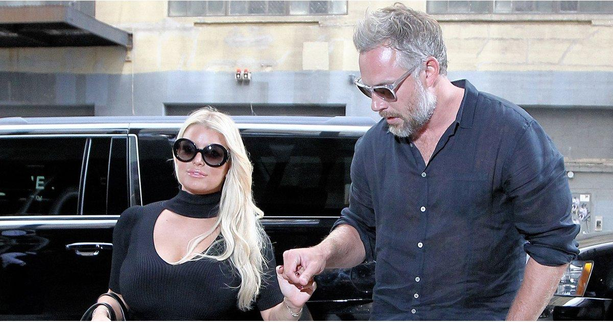 Jessica Simpson Shows Some Serious Leg While Out With Eric Johnson