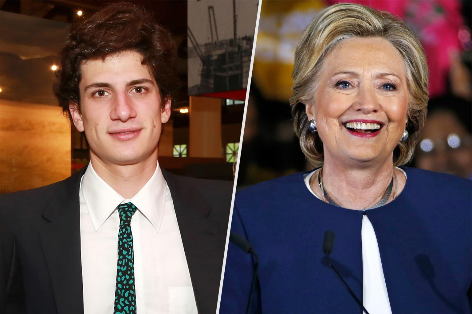 JFK       's Grandson Jack Schlossberg Endorses Hillary Clinton:        She Is Our Candidate